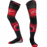 Alpinestars Knee Brace Socks - Black Red