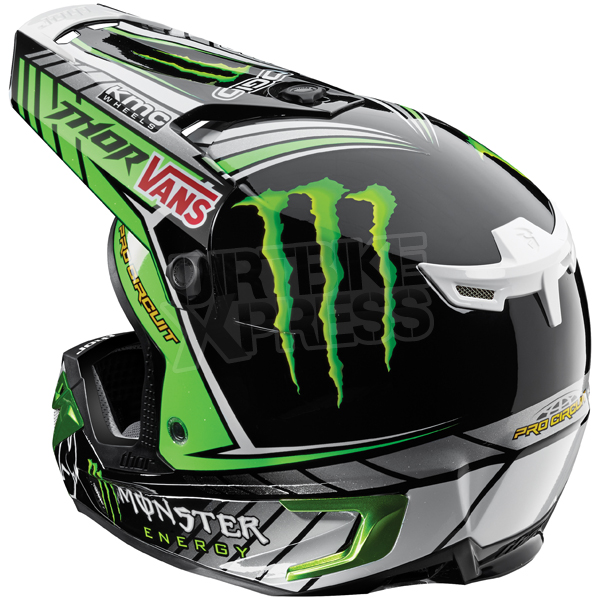 thor verge helmet 2015 pro circuit monster dirtbikexpress. Black Bedroom Furniture Sets. Home Design Ideas