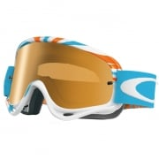 Oakley O Frame Goggles - RPM Orange Blue Iridium