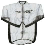 RFX Race Series Rain Jacket - Clear Black