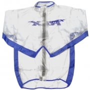 RFX Race Series Rain Jacket - Clear Blue