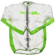 RFX Race Series Rain Jacket - Clear Green