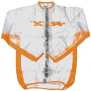 RFX Race Series Rain Jacket - Clear Orange