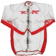 RFX Race Series Rain Jacket - Clear Red