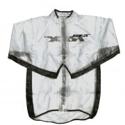 RFX Race Series Kids Rain Jacket - Clear Black