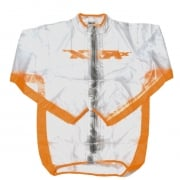 RFX Race Series Kids Rain Jacket - Clear Orange