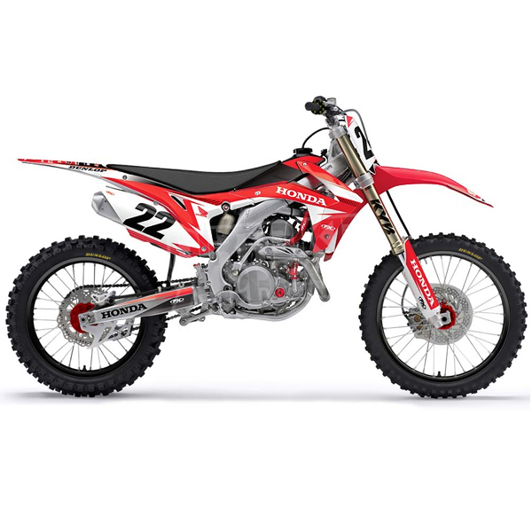 factory effex honda graphics kit evo 12 dirtbikexpress. Black Bedroom Furniture Sets. Home Design Ideas