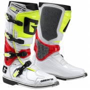 2015 Gaerne SG11 Boots - White Red Fluo Yellow