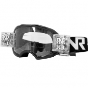 Rip n Roll Colossus XL Roll Off Goggles - Black