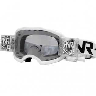 Rip n Roll Colossus XL Roll Off Goggles - White