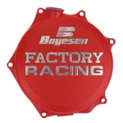 Boyesen Honda Clutch Cover - Red