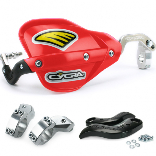 Cycra ProBend CRM Handguards - Red