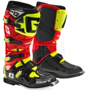 2015 Gaerne SG12 Boots - Limited Edition Red Black Yellow