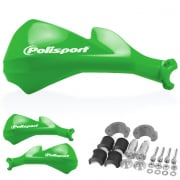 Polisport Sharp Handguards - Green