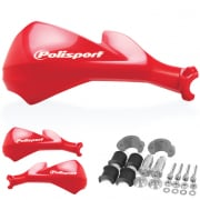 Polisport Sharp Handguards - Red