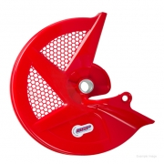 Polisport Honda Front Disc Cover - Red
