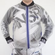 Apico Clear Rain Jacket - Clear Blue