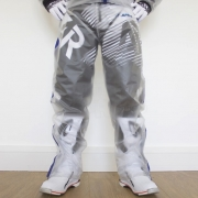 Apico Clear Rain Pants - Clear Blue