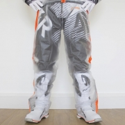 Apico Clear Rain Pants - Clear Orange