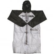RFX Race Series Long Rain Jacket - Clear Black