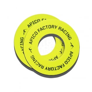 Apico Blister Buster Grip Donuts - Yellow