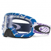 Oakley O Frame 2.0 Goggles - Rushmore Purple Blue Clear