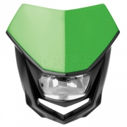 Polisport Halo H4 Headlight - Green