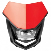 Polisport Halo H4 Headlight - Red