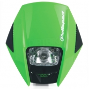 Polisport Exura Headlight - Green