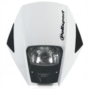 Polisport Exura Headlight - White
