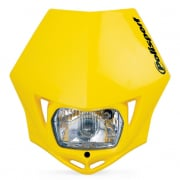 Polisport MMX Headlight - Yellow