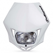 Polisport MMX Headlight - White