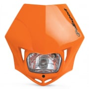 Polisport MMX Headlight - Orange