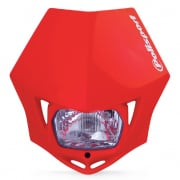 Polisport MMX Headlight - Red