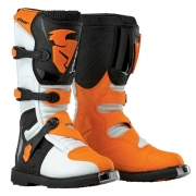 Thor Blitz Kids Boots - White Orange