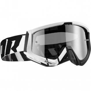 Thor Sniper Goggles - Barred Black White