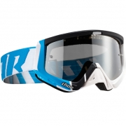 Thor Sniper Goggles - Barred Blue White