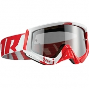 Thor Sniper Goggles - Barred Red White