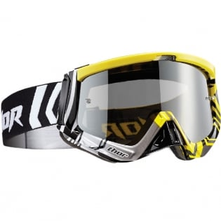 Thor Sniper Goggles - Geo Yellow Black