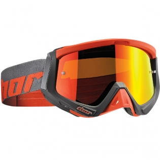 Thor Sniper Goggles - Warship Charcoal Orange