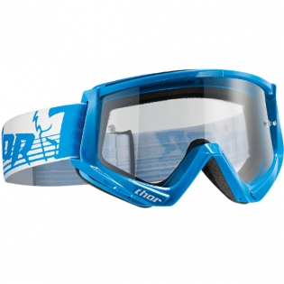 Thor Conquer Goggles - Blue White
