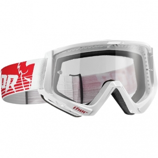 Thor Conquer Goggles - Red White