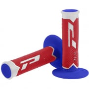 ProGrip 788 Triple Density Grips - Ltd White Red Blue
