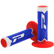 ProGrip 788 Triple Density Grips - Ltd White Blue Red