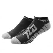 Troy Lee Designs Factory Ankle Socks 3 Pack - Black