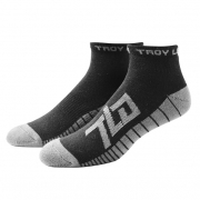 Troy Lee Designs Factory Quarter Socks 3 Pack - Black