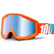 100% Strata Goggles - Orange Mirror Lens