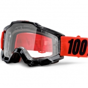 100% Accuri Goggles - Inferno Clear Lens
