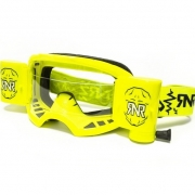 Rip n Roll Colossus WVS Roll Off Goggles - Neon Yellow