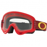 Oakley Kids XS O Frame Goggles - Shockwave Red Yellow
